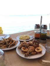 Seafood by the waters edge